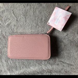 ULTA Hard Shell Make Up Bag - Blush Pink